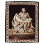 Tapisserie inspirée de la  Pietà  de Michel-Ange 85x65 cm Tapisserie... par LeGuide.com Publicité