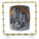 Cadre Sainte Famille verre et cristal Cadre Sainte Famille verre et cristal.... par LeGuide.com Publicité