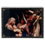 Laque décorée découpage Le Chant des Anges 22x16 cm Laque décorée découpage... par LeGuide.com Publicité