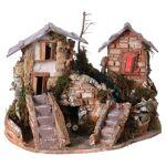 Cascade dans les maisons, milieu crèche de noel Cascade dans les maisons,... par LeGuide.com Publicité
