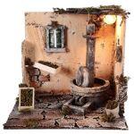Scène moulin à huile 28x26x24 cm décor crèche napolitaine Scène moulin... par LeGuide.com Publicité