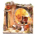 Scène soulard 28x26x24 cm crèche napolitaine Scène soulard 28x26x24 cm... par LeGuide.com Publicité