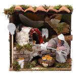 Santon animé pour crèche, boulanger 6 cm Santon animé pour crèche, boulanger... par LeGuide.com Publicité