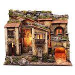 Village avec éclairage et fontaine 52x61,5x41 cm crèche de Naples Village... par LeGuide.com Publicité
