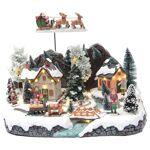 Village hivernal traîneau Père Noël 30x25x25 cm Village hivernal traîneau... par LeGuide.com Publicité