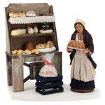 Décor boulangerie avec étagère et pâtissière 13 cm Décor boulangerie... par LeGuide.com Publicité