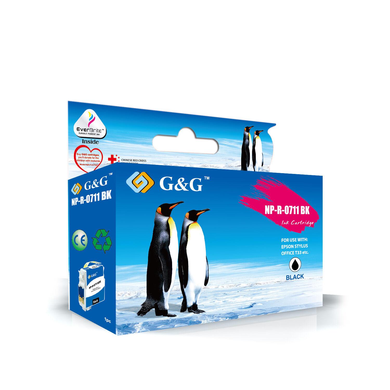 Epson Cartouche de marque G&G compatible EPSON T0713 Magenta
