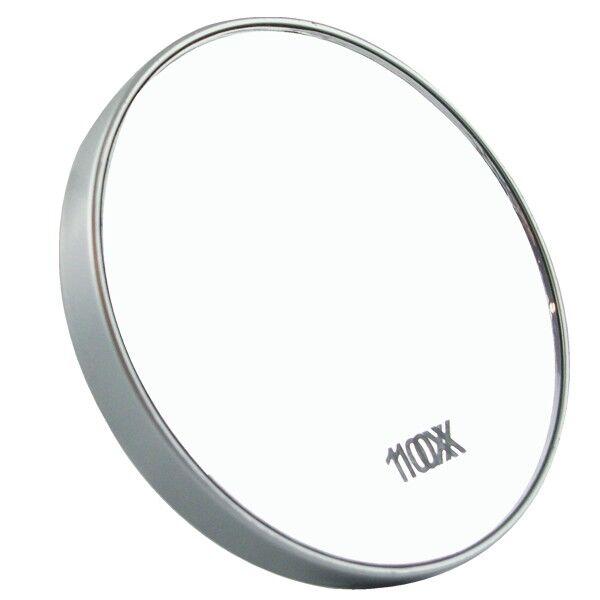 Source Miroir grossissant X10 - Petit modèle avec ventouses