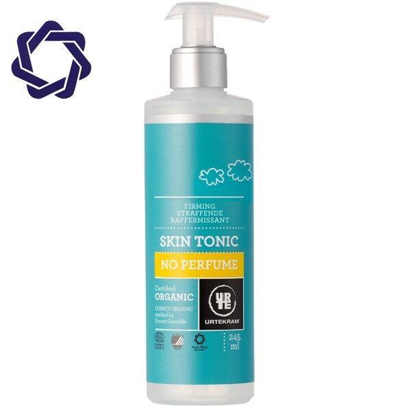 Urtekram Lotion Tonique Visage 245 ml - Sans parfum - Peaux sensibles