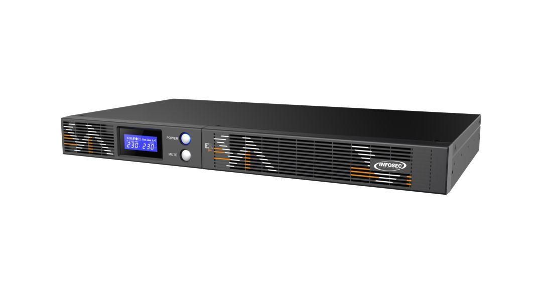 INFOSEC UPS SYSTEM Onduleur E3 Live 1000 RM - Infosec