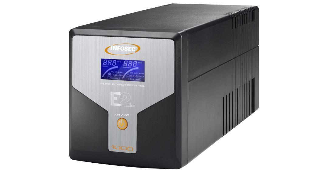 INFOSEC UPS SYSTEM Onduleur E2 LCD 1000 - Infosec