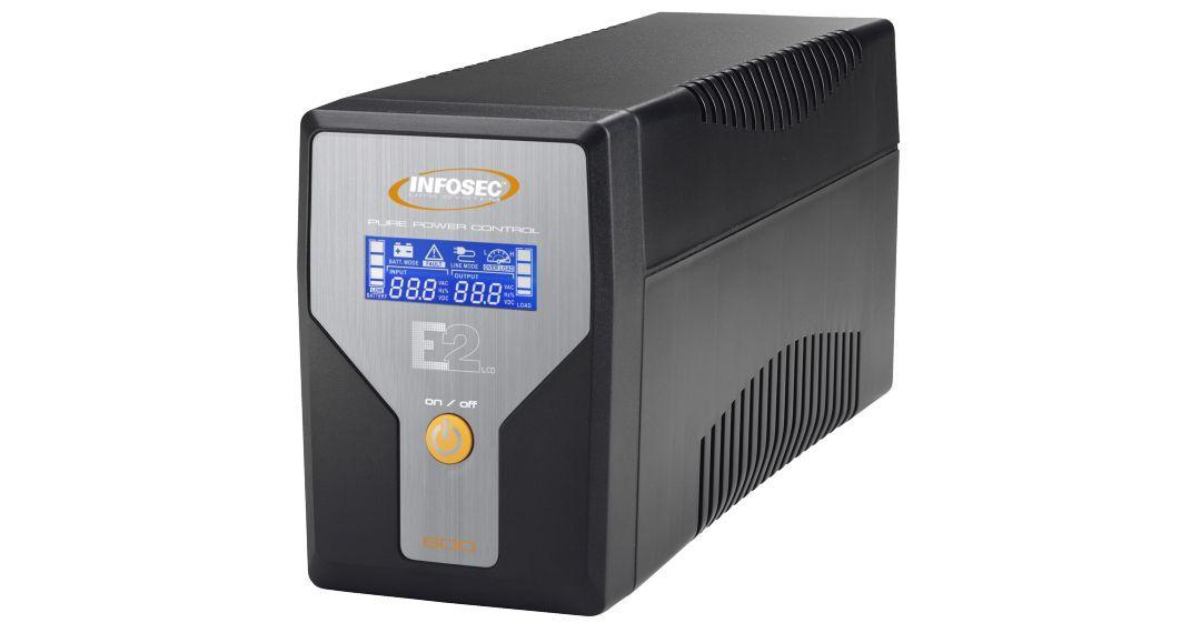 INFOSEC UPS SYSTEM Onduleur E2 LCD 600 - Infosec
