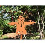 Jardin et Saisons Epouvantail de jardin en acier marron hauteur 50 cm... par LeGuide.com Publicité