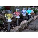 Jardin et Saisons Balise solaire en verre multi facettes (les 4) Ces... par LeGuide.com Publicité