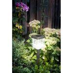 Jardin et Saisons Lampe solaire de jardin à LED en inox Cette lampe solaire... par LeGuide.com Publicité