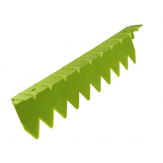 Jardin et Saisons Bordure stop herbe avec rebord plat vert anis