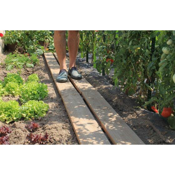 Jardin et Saisons Chemin de potager en bois douglas 30 x 130 cm