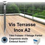vynex  Vynex Vis terrasse 5x50 / 30 Inox A2 boite de 200 TX25 Vis Spéciale... par LeGuide.com Publicité