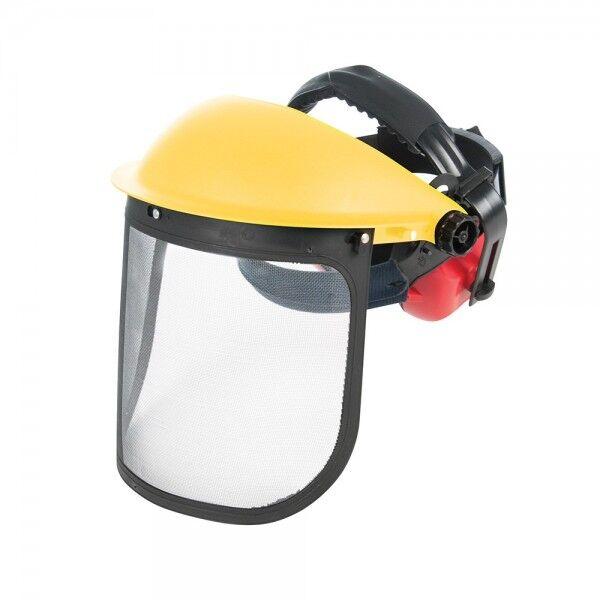 Silverline Visière grillagée de forestier avec casque anti-bruit Silverline 140878