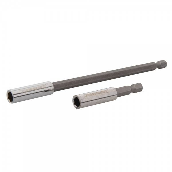 Silverline 2 Porte embouts magnetique 1/4 60mm et 150 mm