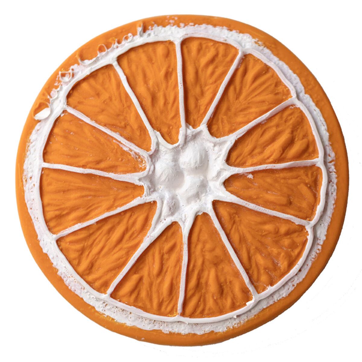 Oli & Carol Jouet de Dentition Clementino l'Orange