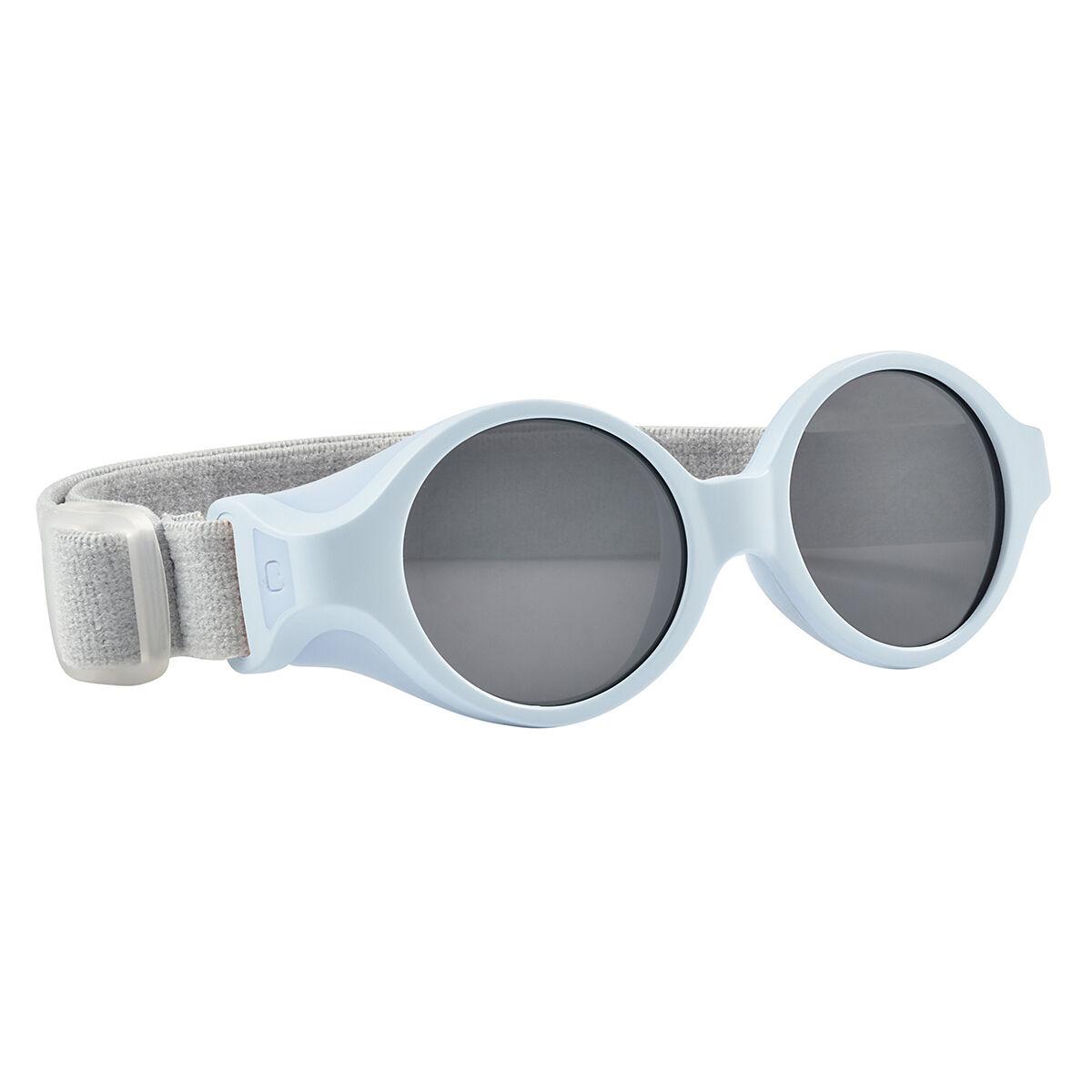 BÉABA Lunettes de Soleil Bandeau 0/9 Mois - Bleu Perle