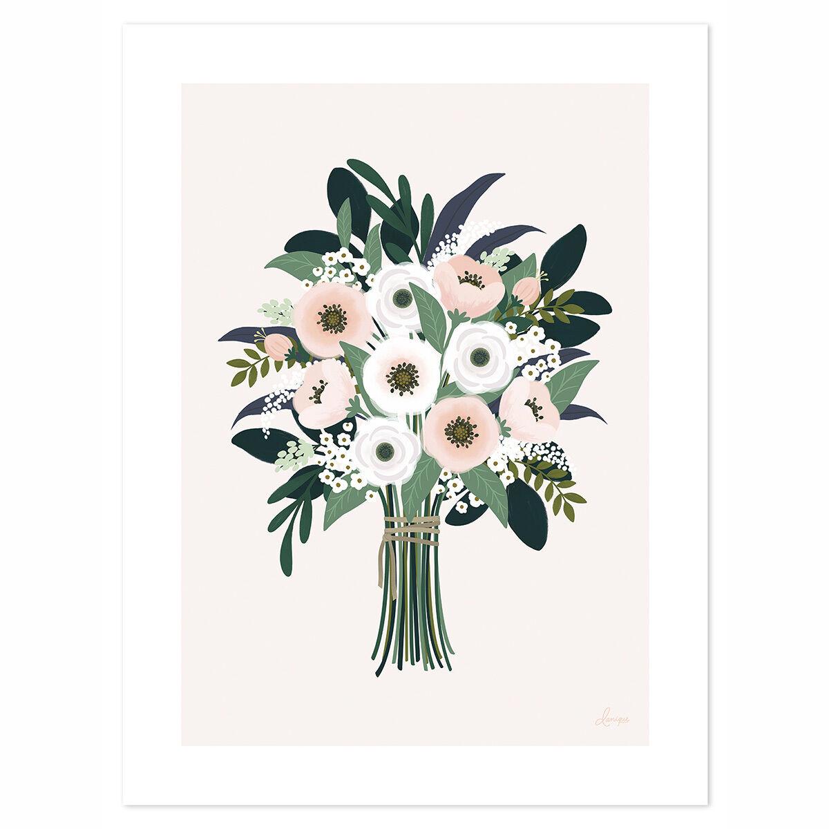 Lilipinso Affiche Un si Joli Bouquet