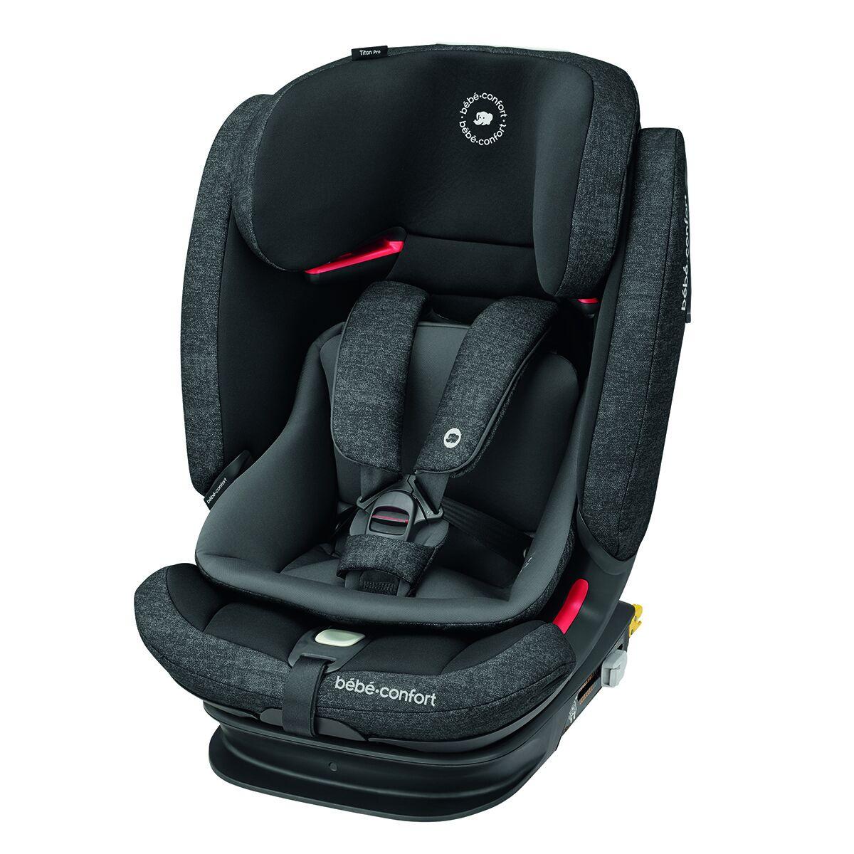 Bébé Confort Siège Auto Titan Pro Isofix Groupe 1/2/3 - Nomad Black