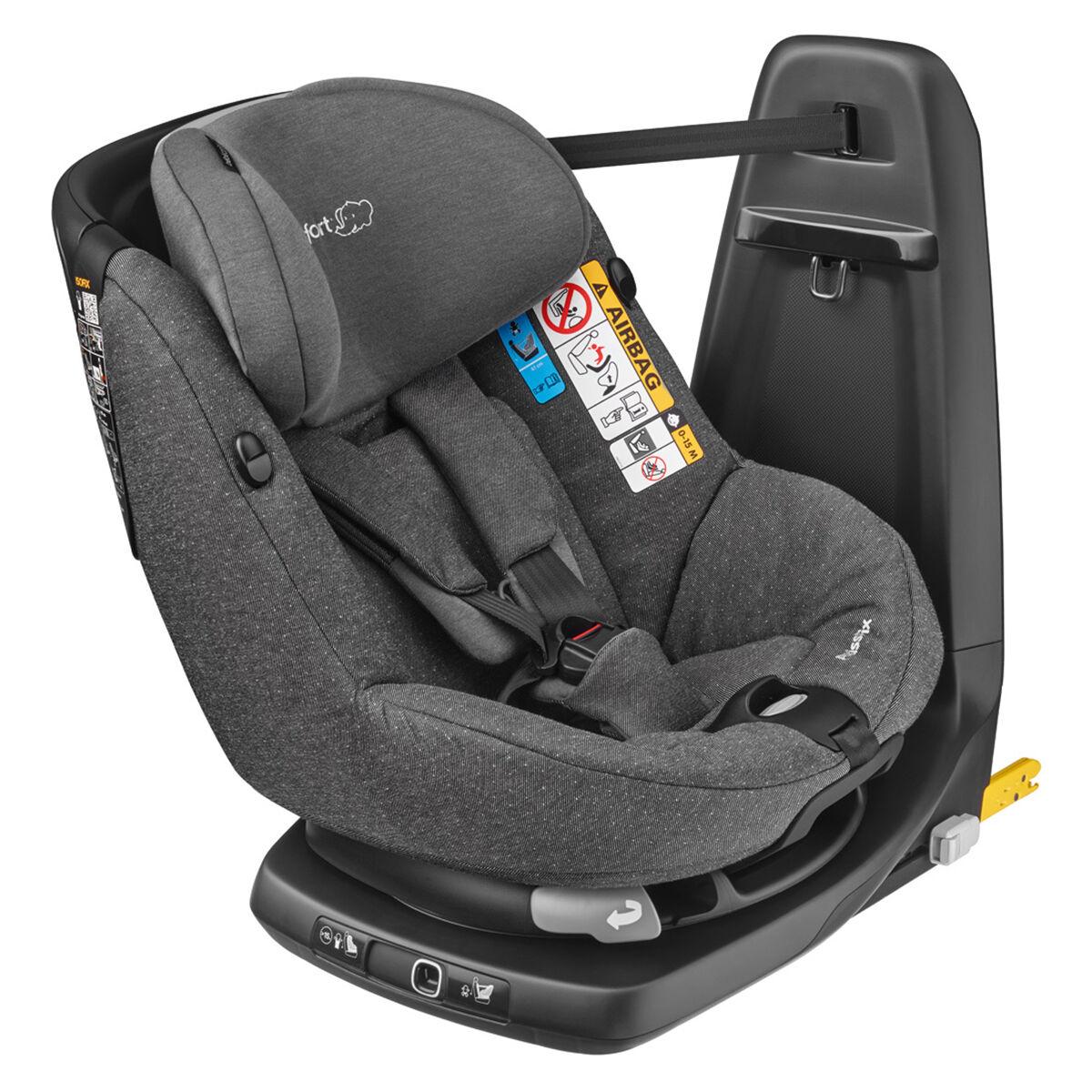 Bébé Confort Siège Auto AxissFix i-Size Groupe 0+/1 - Sparkling Grey