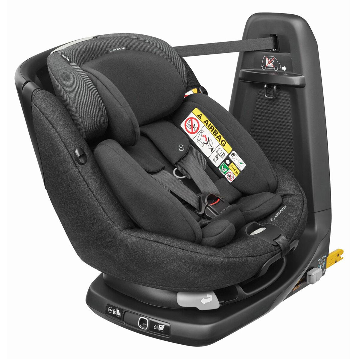 Bébé Confort Siège Auto AxissFix Plus i-Size Groupe 0+/1 - Nomad Black
