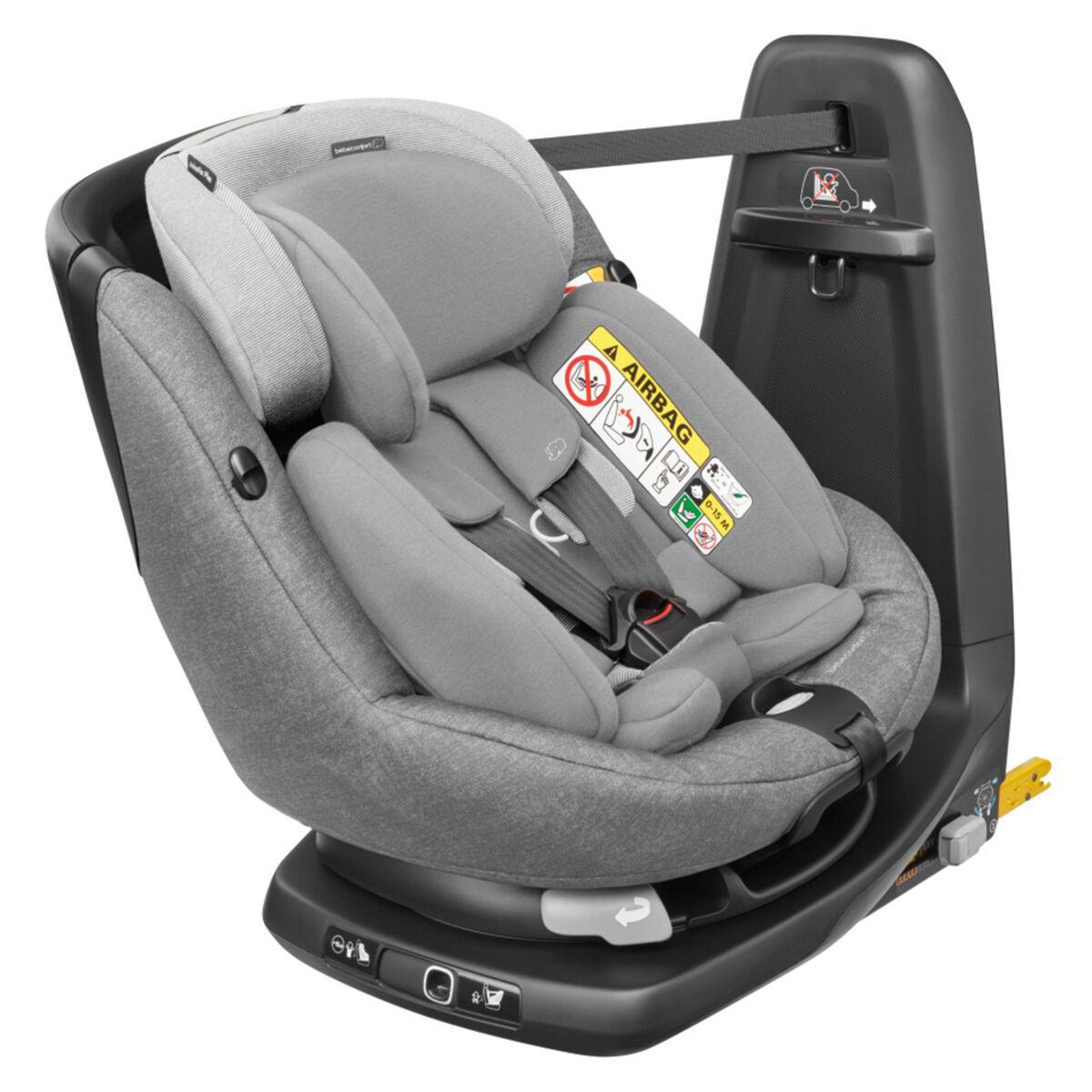 Bébé Confort Siège Auto AxissFix Plus i-Size Groupe 0+/1 - Nomad Grey