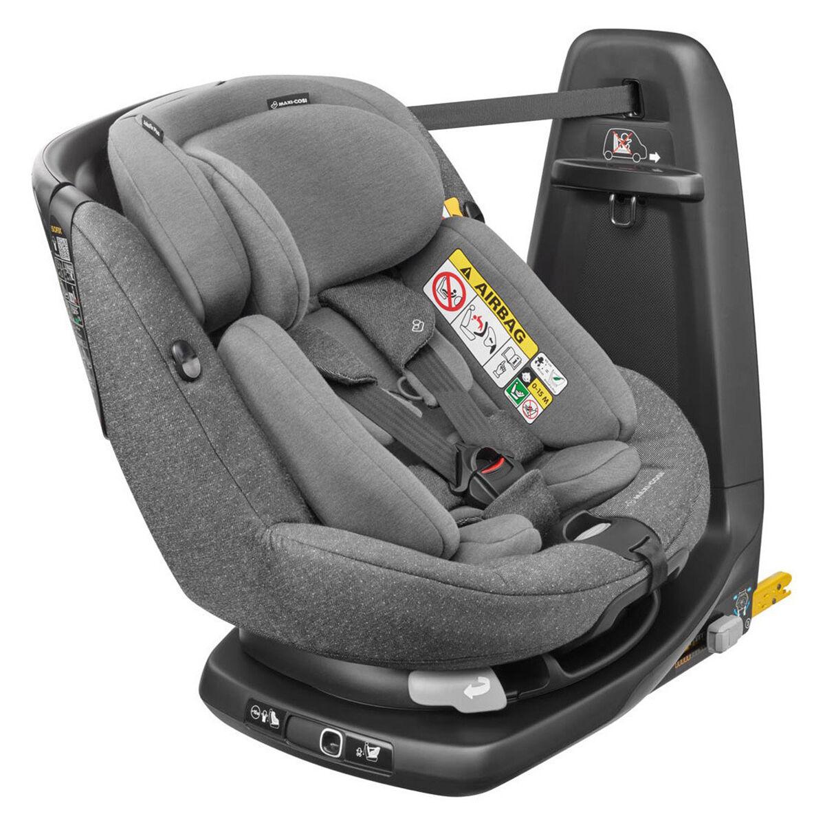 Bébé Confort Siège Auto AxissFix Plus i-Size Groupe 0+/1 - Sparkling Grey