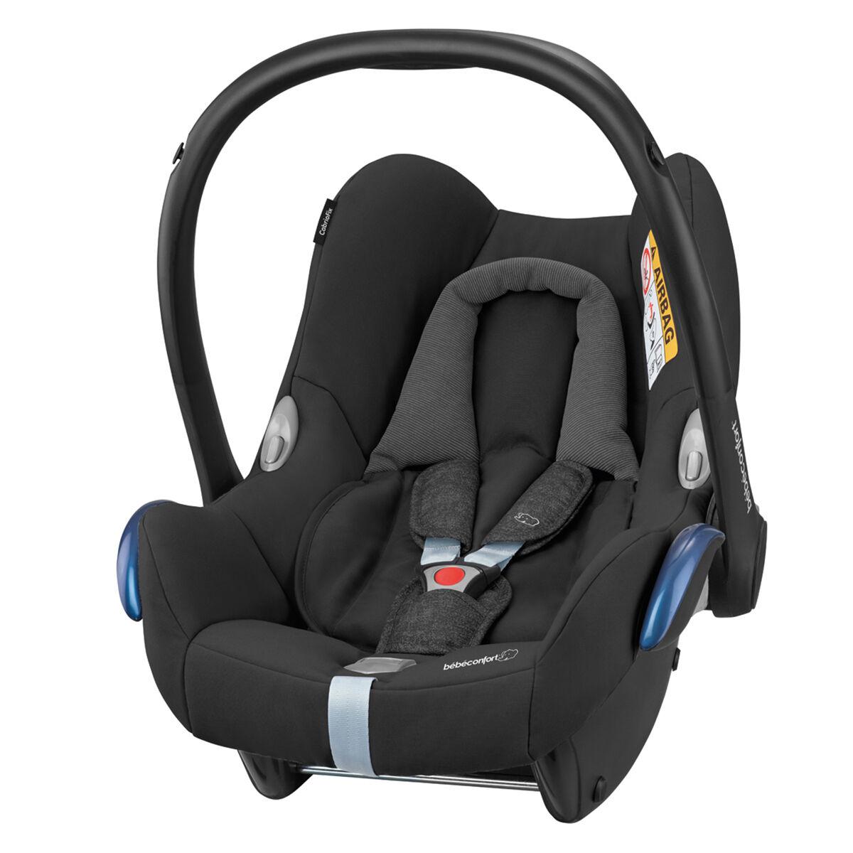 Bébé Confort Siège Auto CabrioFix Isofix Groupe 0+ - Nomad Black