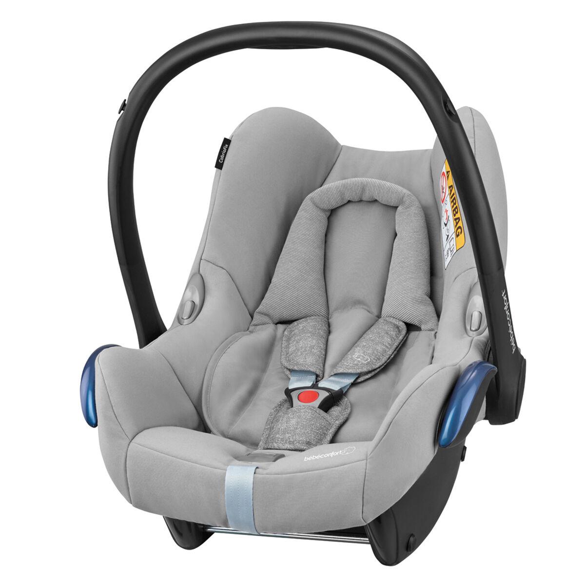Bébé Confort Siège Auto CabrioFix Isofix Groupe 0+ - Nomad Grey