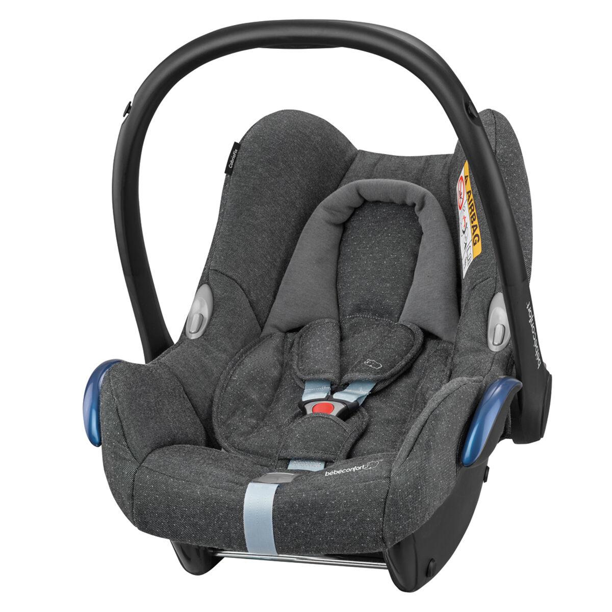 Bébé Confort Siège Auto CabrioFix Isofix Groupe 0+ - Sparkling Grey