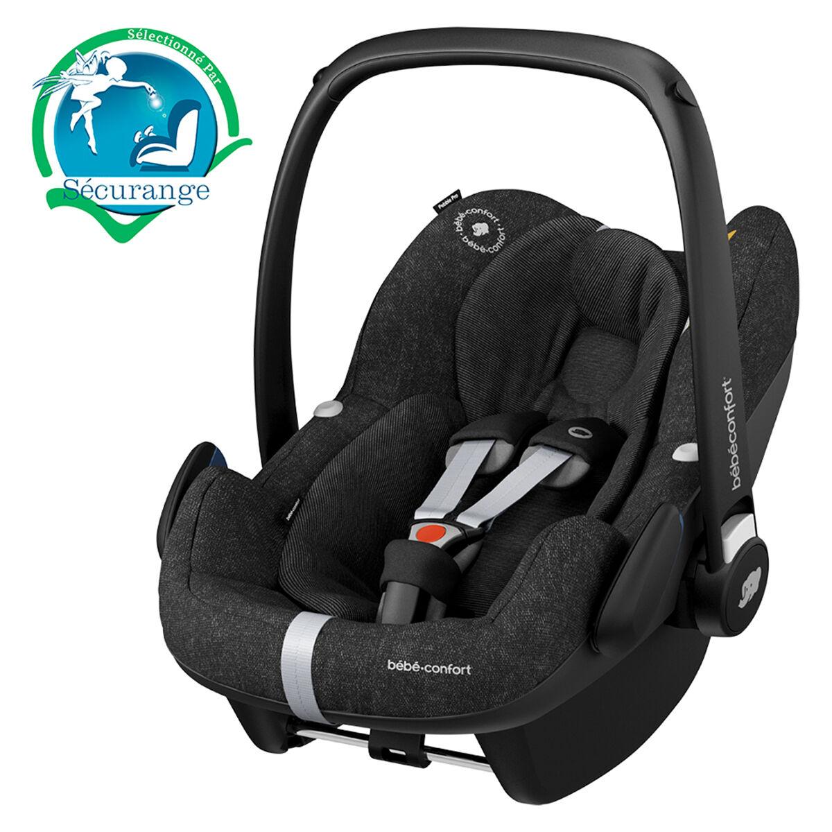 Bébé Confort Siège Auto Pebble Pro i-Size Groupe 0+ - Nomad Black