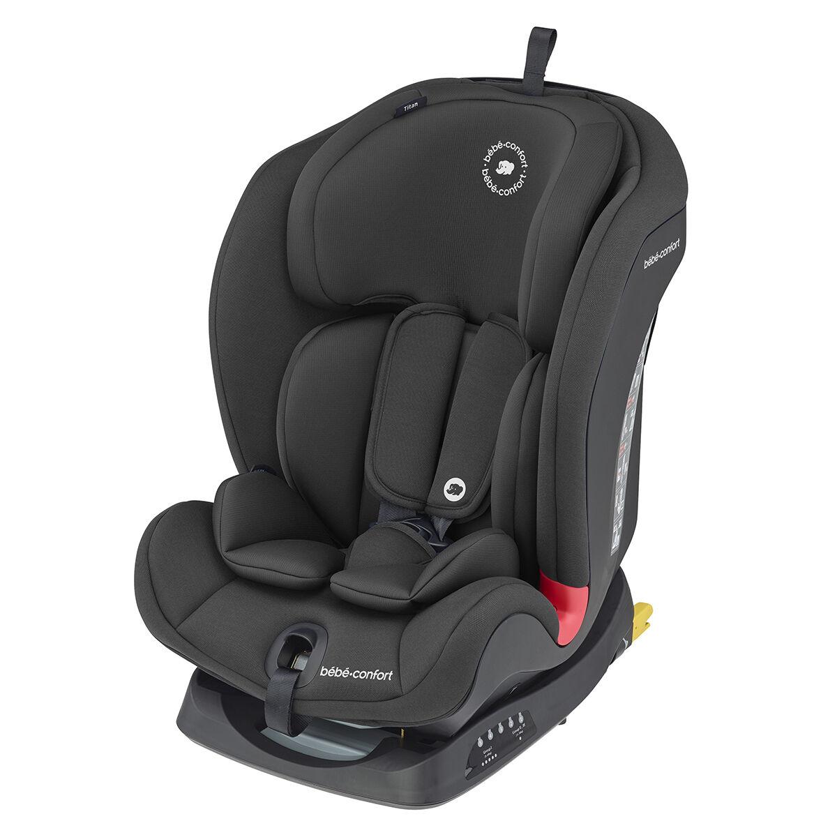 Bébé Confort Siège Auto Titan Isofix Groupe 1/2/3 - Basic Black