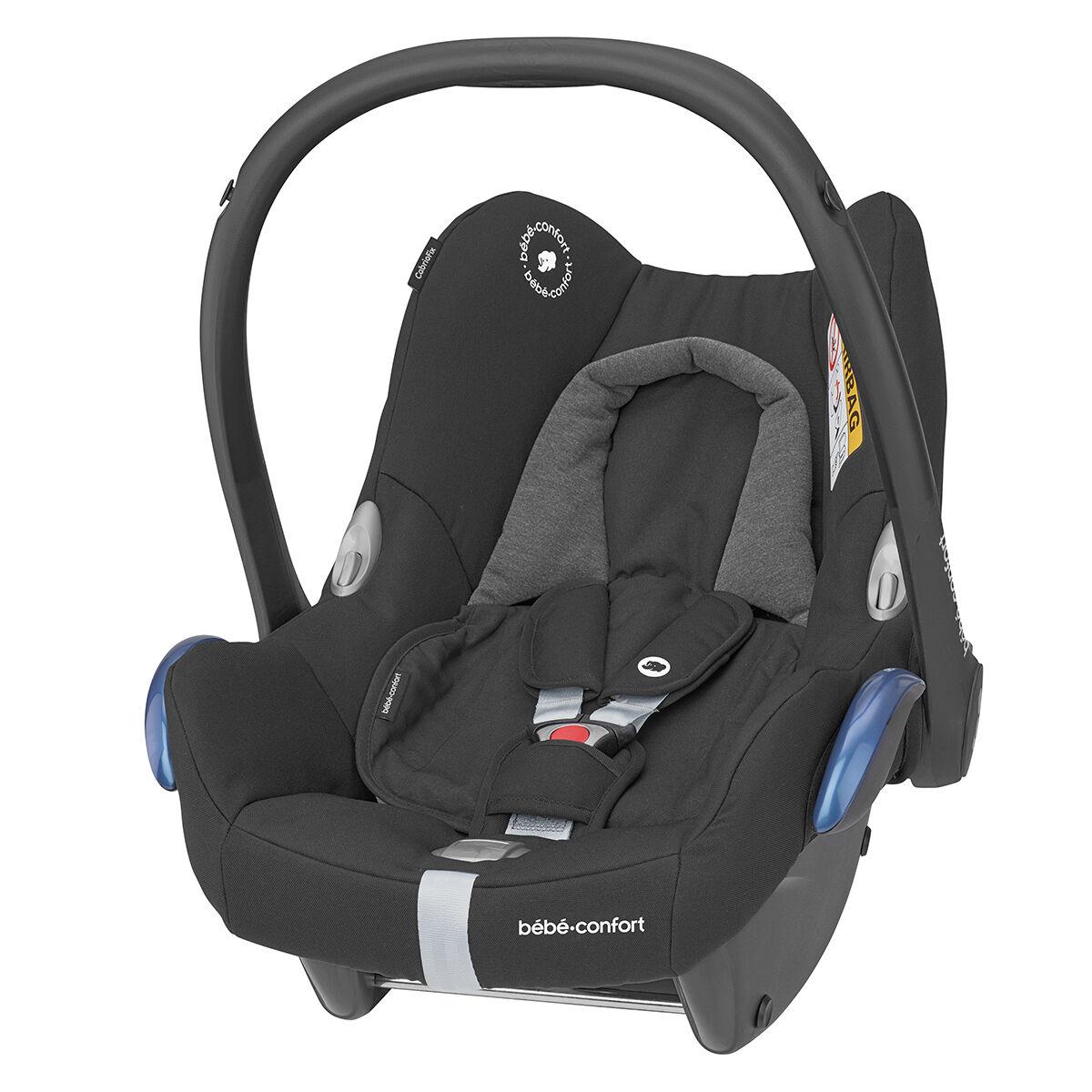 Bébé Confort Siège Auto CabrioFix Isofix Groupe 0+ - Essential Black