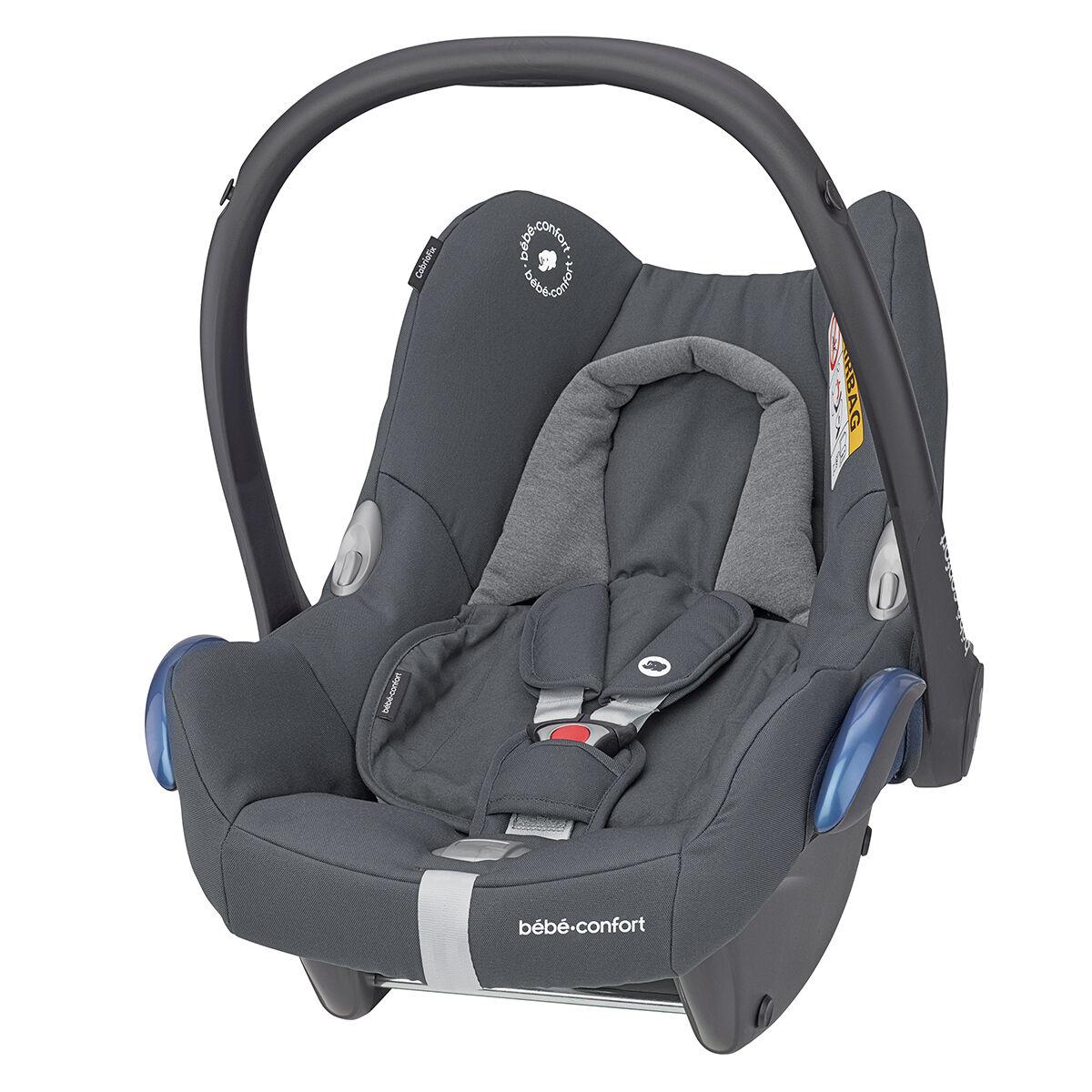 Bébé Confort Siège Auto CabrioFix Isofix Groupe 0+ - Essential Graphite