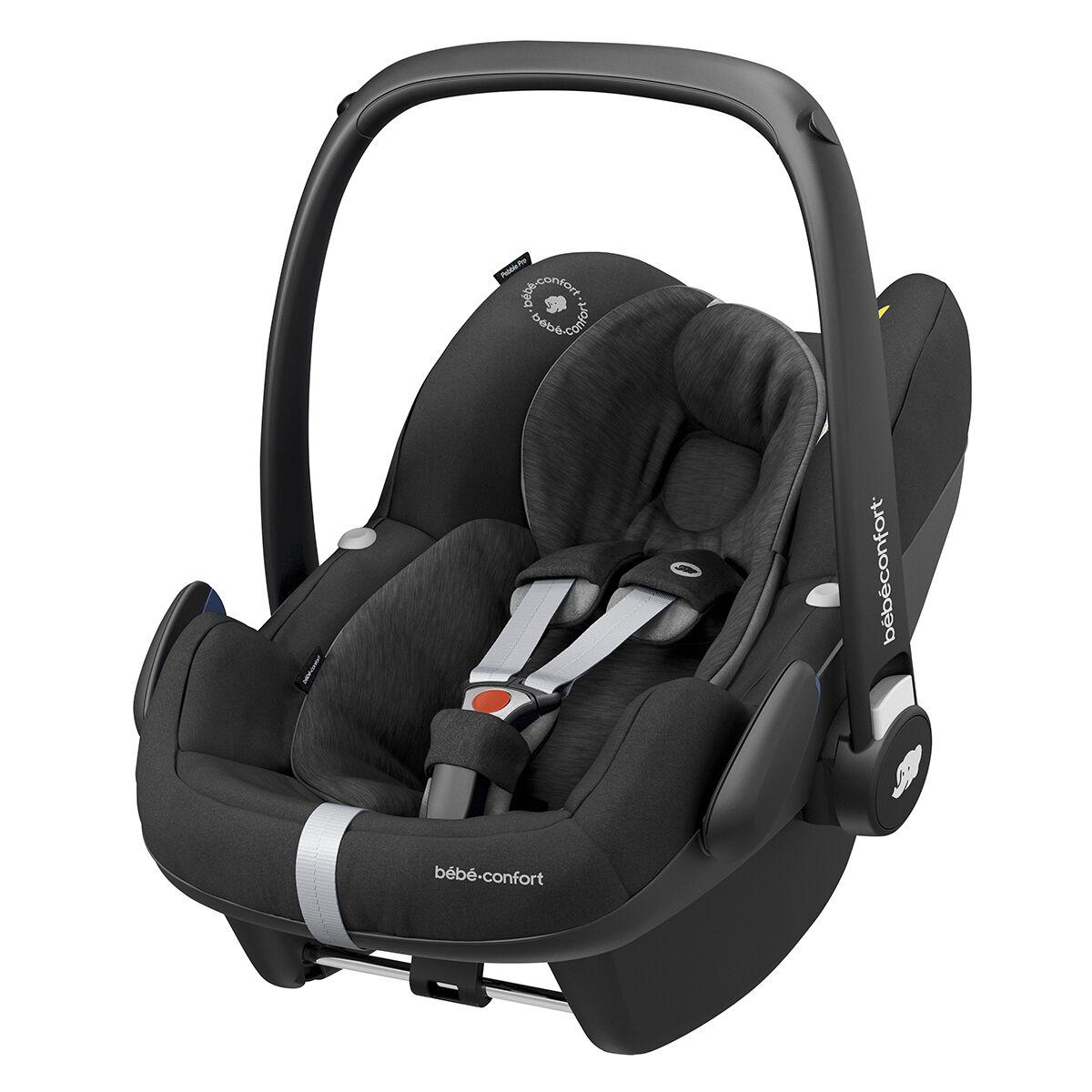 Bébé Confort Siège Auto Pebble Pro i-Size Groupe 0+ - Essential Black