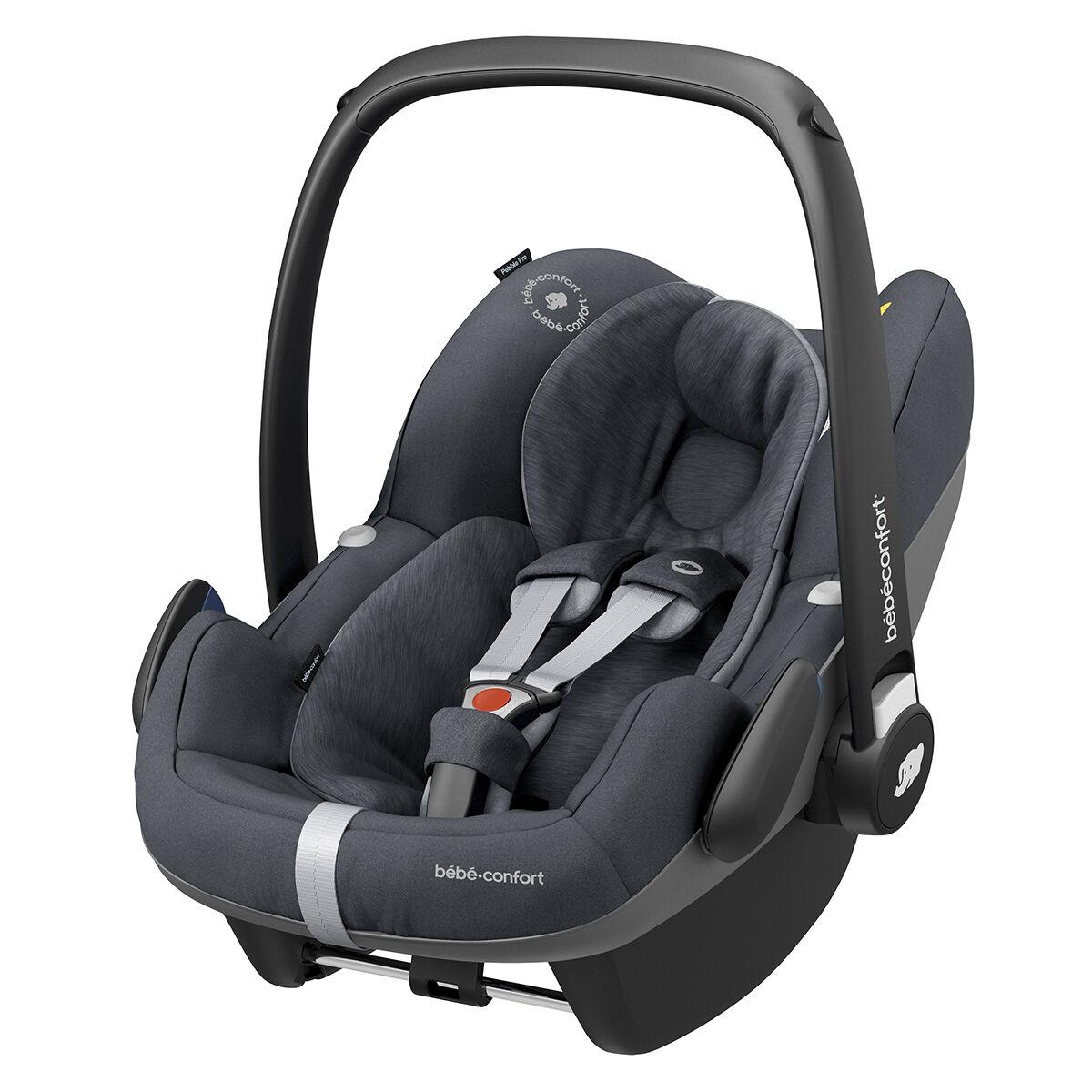 Bébé Confort Siège Auto Pebble Pro i-Size Groupe 0+ - Essential Graphite