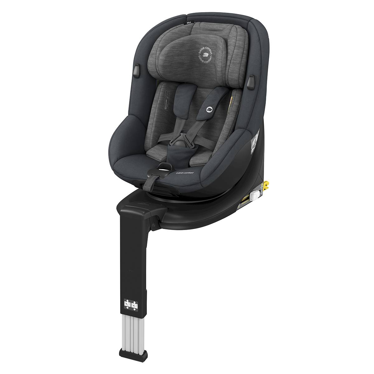 Bébé Confort Siège Auto Mica i-Size Groupe 0+/1 - Authentic Graphite