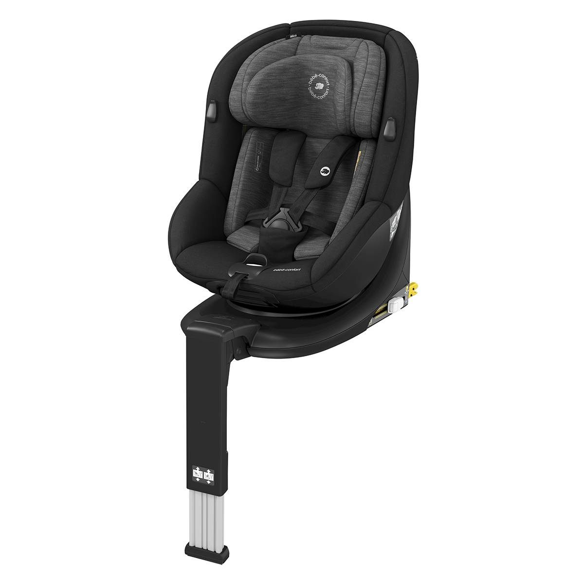 Bébé Confort Siège Auto Mica i-Size Groupe 0+/1 - Authentic Black
