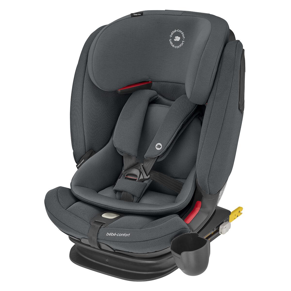 Bébé Confort Siège Auto Titan Pro Isofix Groupe 1/2/3 - Authentic Graphite
