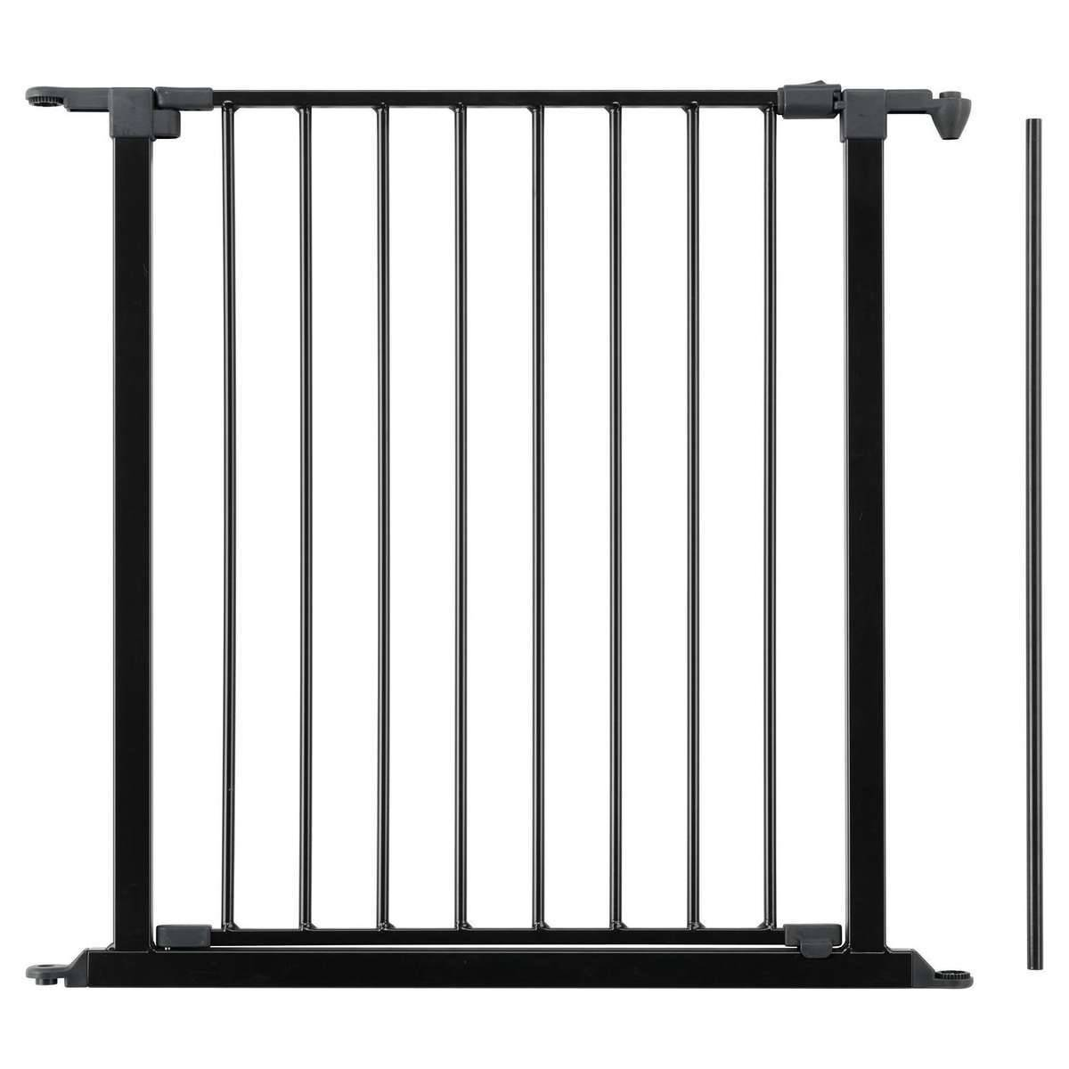 BabyDan Extension Configure avec Portillon 72 cm - Noir