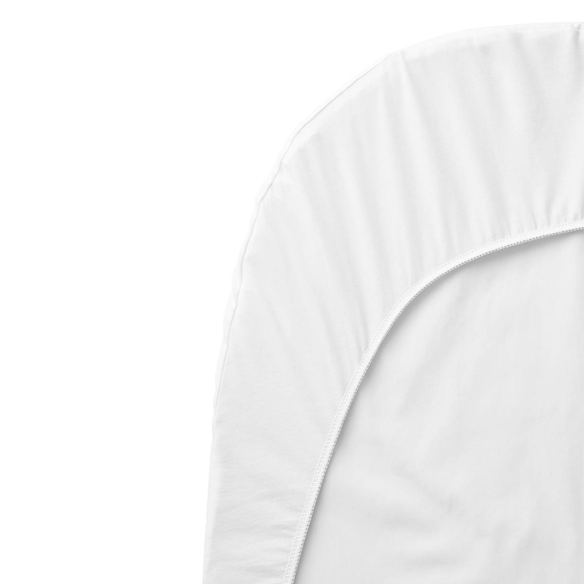 BabyBjörn Drap Housse Berceau Evolutif Blanc - 54 x 104 cm