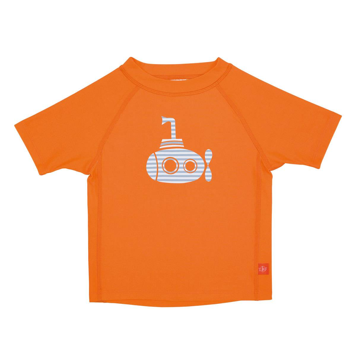 LÄSSIG T-Shirt Anti-UV Manches Courtes  - Sous-Marin - 6 mois