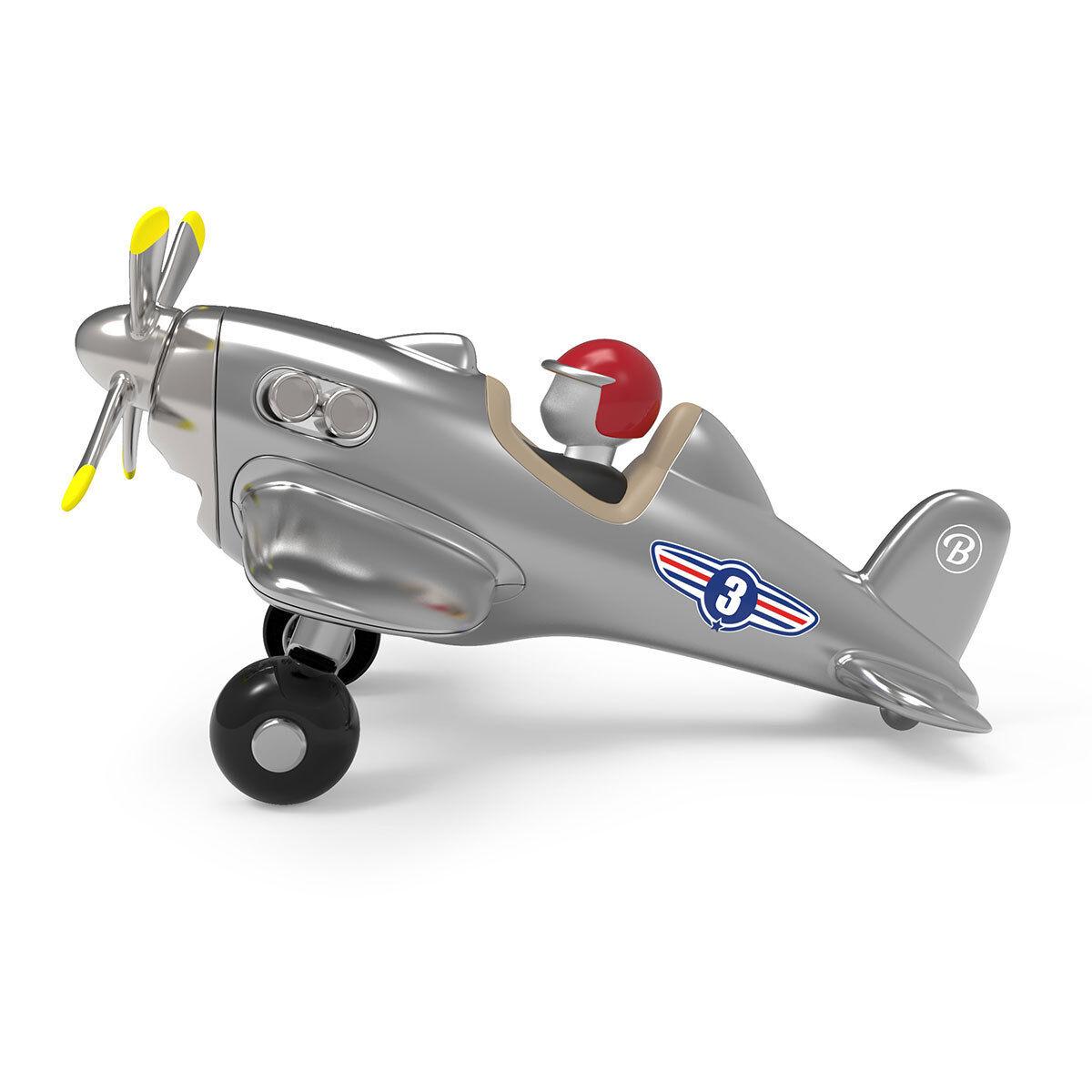 Baghera Jet Plane - Silver