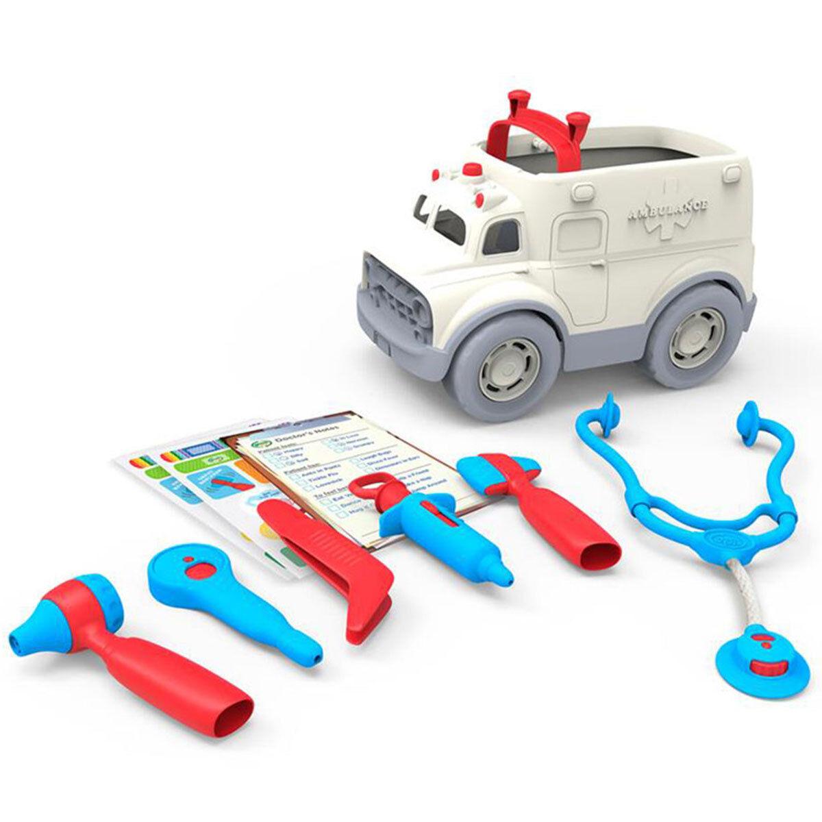 Green Toys Ambulance et Kit de Médecin