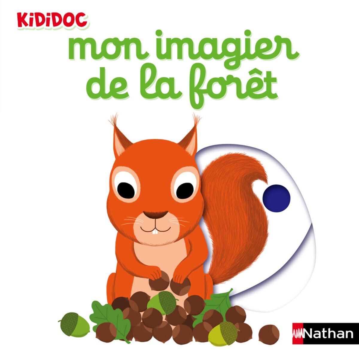 Nathan Editions Mon Imagier de la Forêt